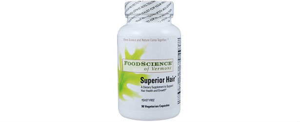 FoodScience of Vermont Superior Hair Review 615