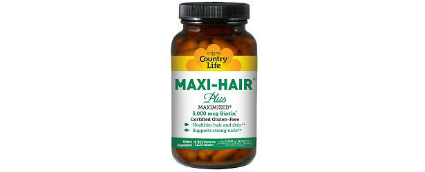 Country Life Maxi Hair Plus Review 615